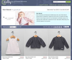 Isabelle zulily page